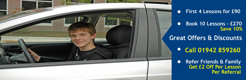 special offers and discount driving lessons in bolton